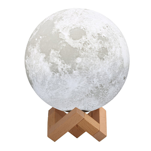 Mond-Lampe – USB LED Nachtlicht mit Dock