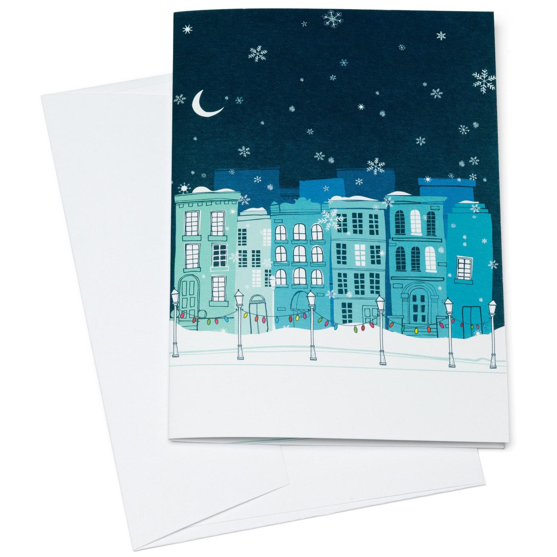 Grußkarte mit Geschenkgutschein